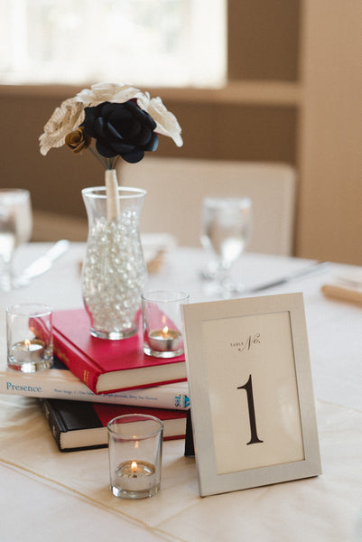 Have a literary themed wedding! | 25 Ideas for Your Unforgettable Themed Wedding | Kennedy Blue