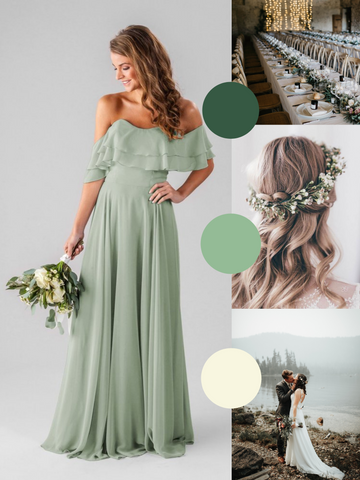 wide range quality and quantity assured new Sage Green Bridesmaids Dresses We Love – Kennedy Blue