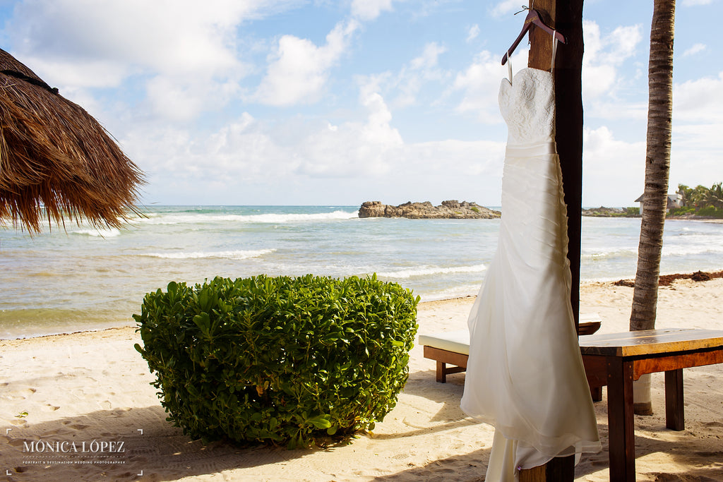 A Stunning Photo of Kennedy Blue Wedding Gown Hailey | A One-Of-A-Kind Destination Wedding