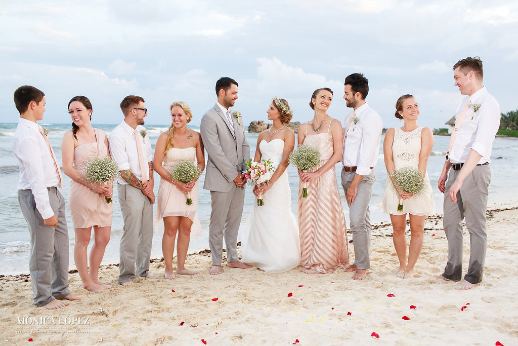 A Gorgeous Destination Wedding Photo | A One-Of-A-Kind Destination Wedding