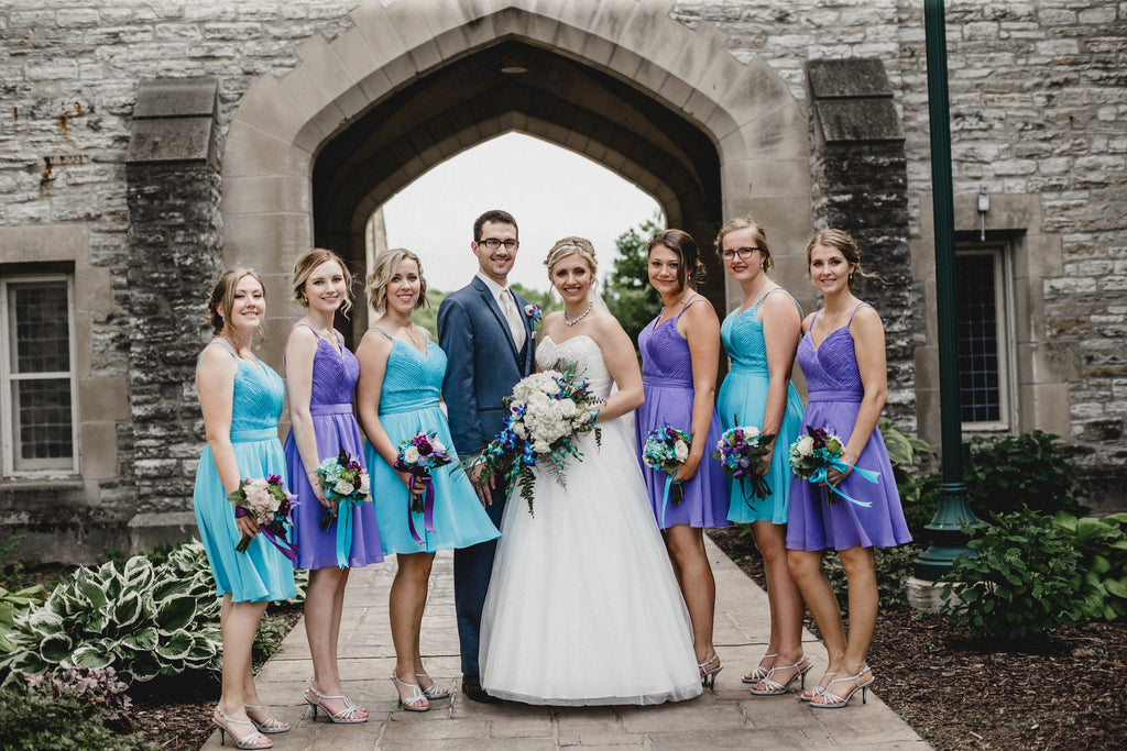 peacock color wedding