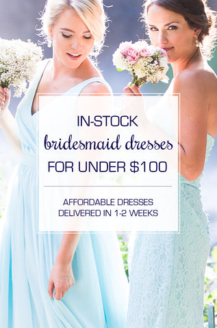 Affordable bridesmaid dresses from Kennedy Blue! Shop the in-stock selection.