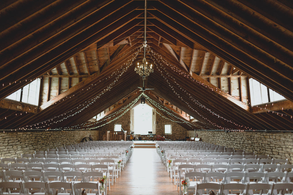 A big, beautiful, barn for a rustic themed wedding | Wedding 101: Finding Your Wedding Aesthetic | Kennedy Blue | Ray + Kelly Photography