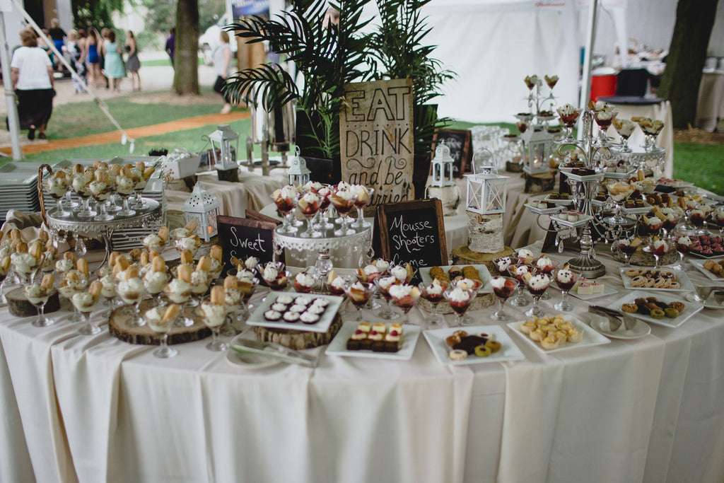 The Dessert Table! | A Barn Wedding So Gorgeous, You Have to See It to Believe It | www.KennedyBlue.com
