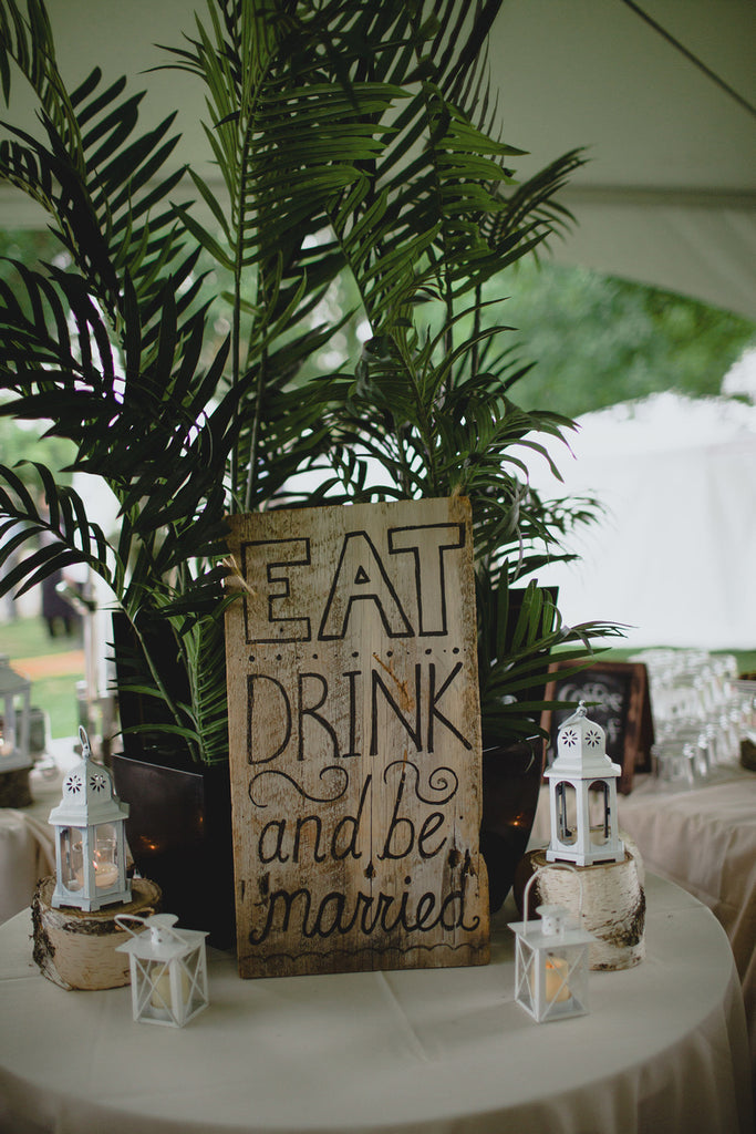 """Eat, drink, and be married!"" 