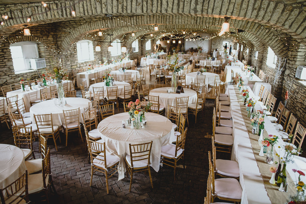 Mayowood Stone Barn Wedding Reception | A Barn Wedding So Gorgeous, You Have to See It to Believe It | www.KennedyBlue.com