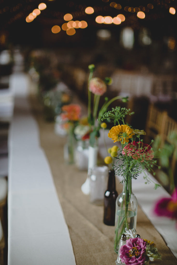 A Stunning Table Display | A Barn Wedding So Gorgeous, You Have to See It to Believe It | www.KennedyBlue.com