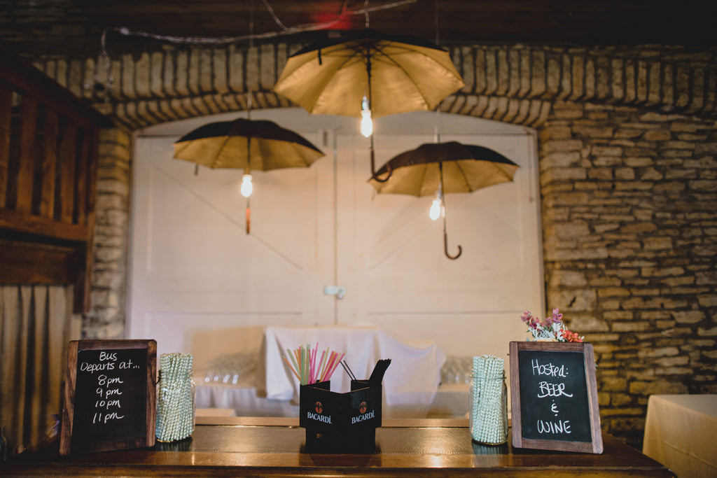 The Bar | A Barn Wedding So Gorgeous, You Have to See It to Believe It | www.KennedyBlue.com