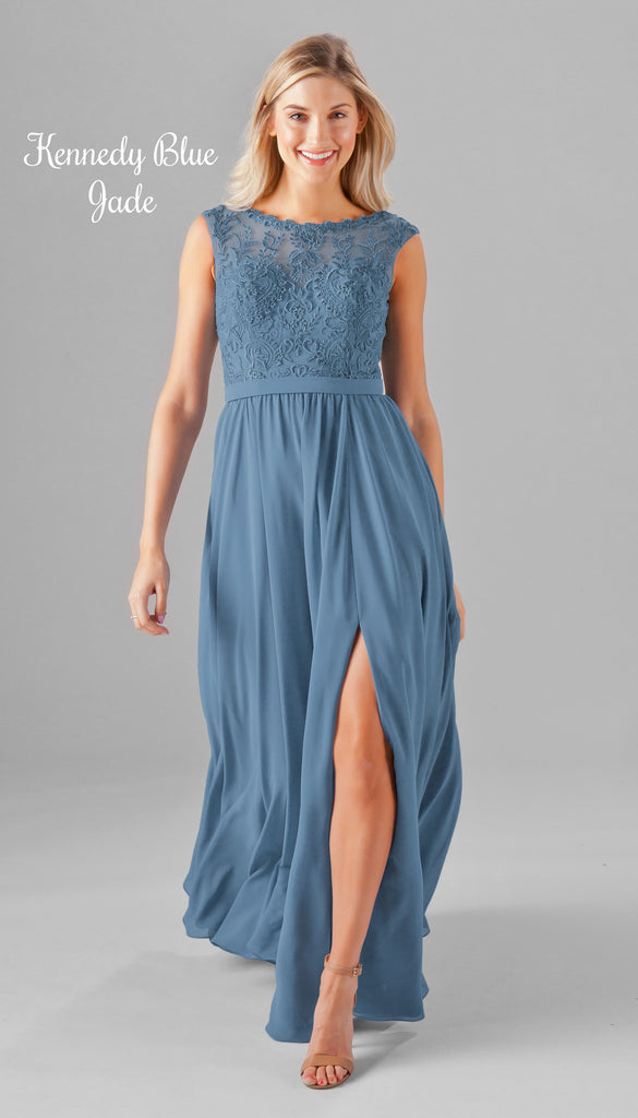 A NEW Chiffon and Embroidered Bridesmaid Dress From the Kennedy Blue Spring 2017 Collection