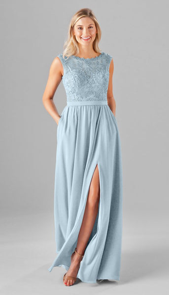 Kennedy Blue Jade | Our Favorite Long Light Blue Bridesmaid Dresses