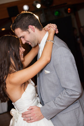 Who doesn't love the first dance? | A Fall Wedding Filled With Elegance and Style