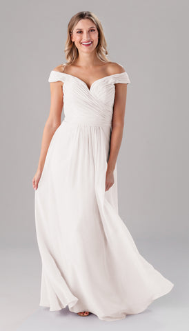 Kennedy Blue Jenna dress | Ivory Bridesmaid Dresses
