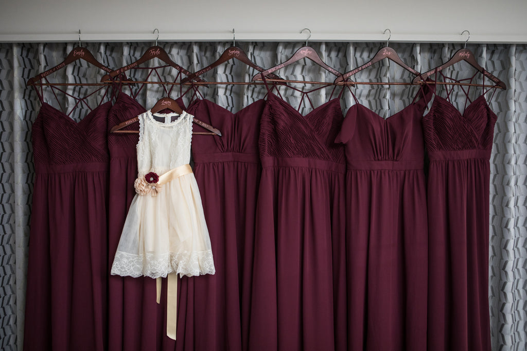f8712e5d4428 Bordeaux is the ultimate color for your wedding! Rich, deep, and  flattering,. Kennedy Blue bridesmaid dresses ...