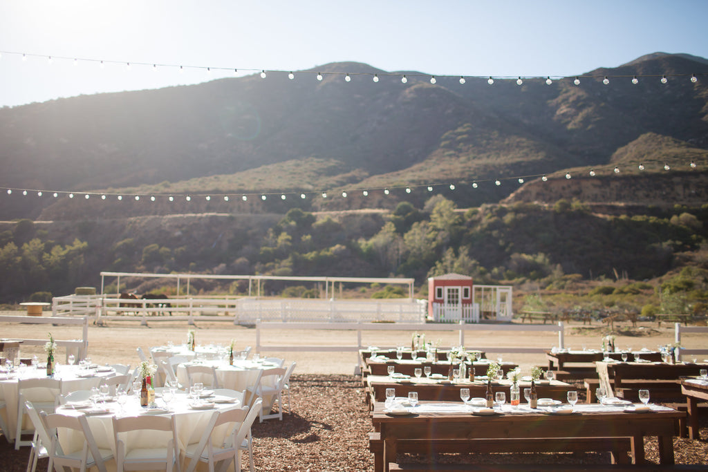 Look at this gorgeous wedding venue! | A Vintage Wedding At Sweet Pea Ranch | Kennedy Blue | Janelle Marina Photography