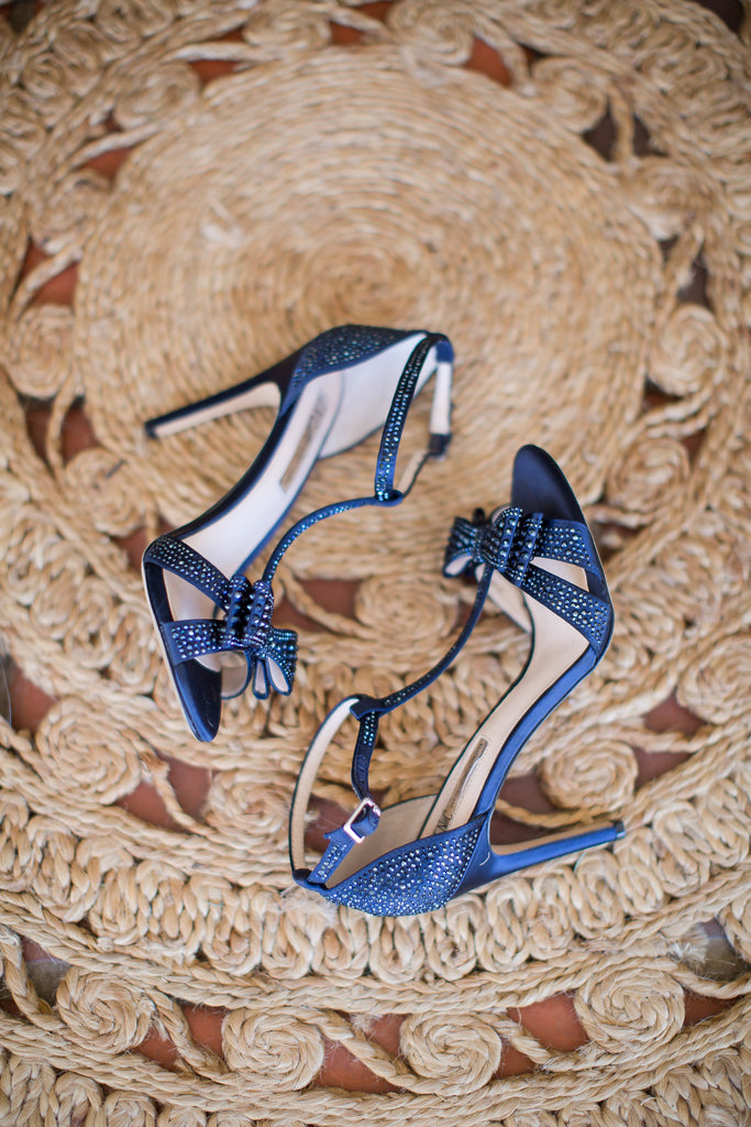 Look at these gorgeous shoes! | A Vintage Wedding At Sweet Pea Ranch | Kennedy Blue | Janelle Marina Photography