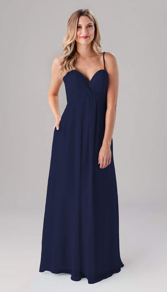 Jeslyn Kennedy Blue Bridesmaid Dress | How to Find the Perfect Bridesmaid Dresses for Petite Women