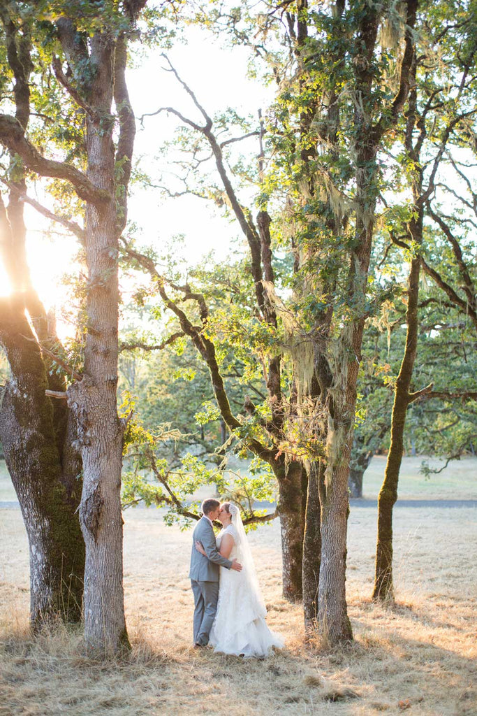 A gorgeous outdoor wedding in Oregon.