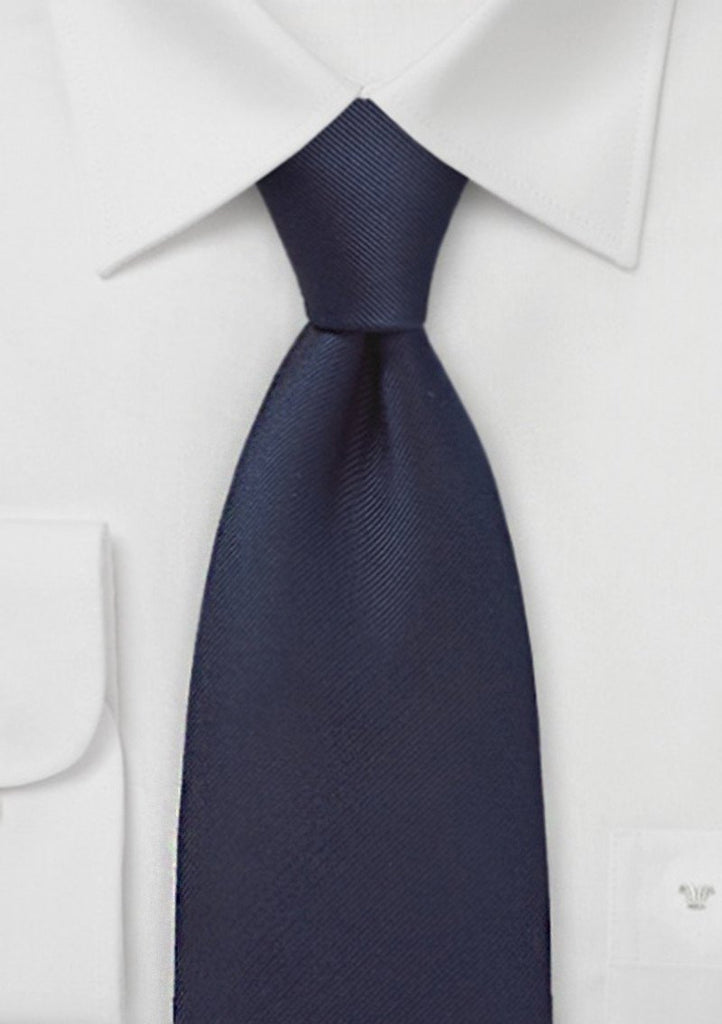 Kennedy blue navy tie