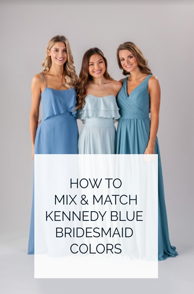 How to Mix and Match Kennedy Blue Colors