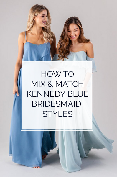 How to Mix & Match Kennedy Blue Styles