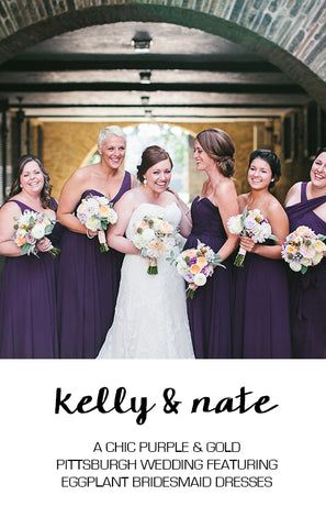 Real Wedding: Kelly & Nate