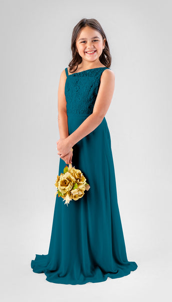 Ireland in Marine | Chiffon Junior Bridesmaid Dresses
