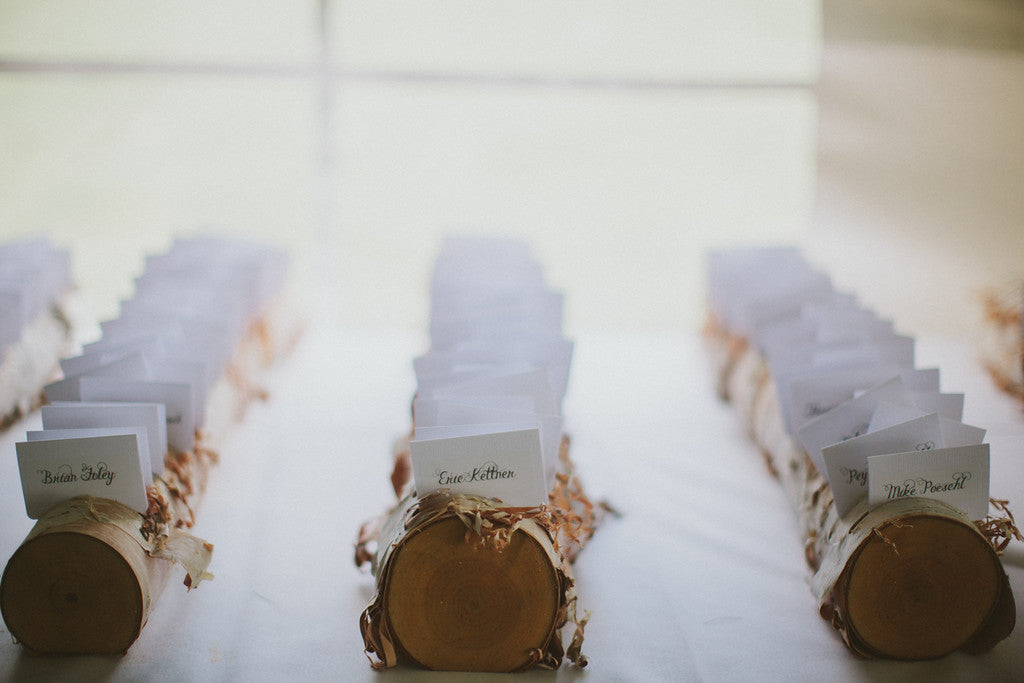 Weeks 2-1: Prepare name cards for guests | Wedding Countdown: Your 12 Week Checklist