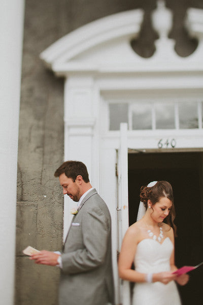 Must-Have Wedding Pictures of Reading the Letters