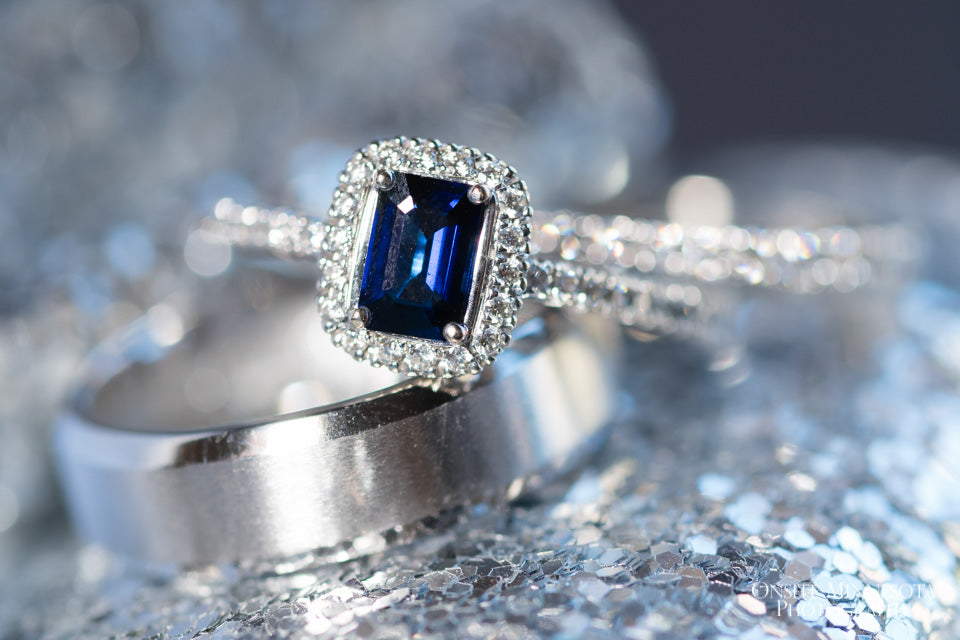 Royal Sapphire wedding ring