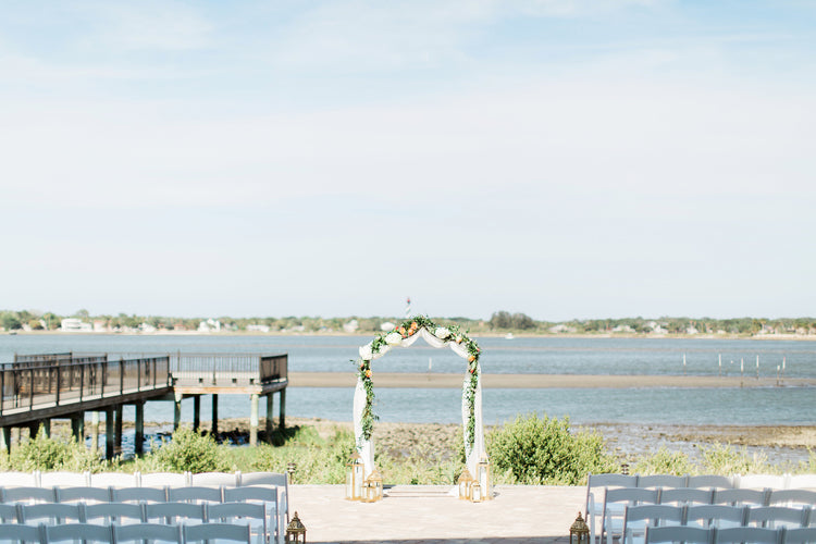 Ceremony Look Out | Alexis and Michaels Wedding | Featured on Destination Wedding Details | Real Wedding blog