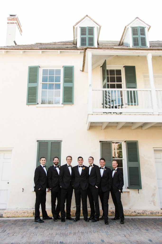 Groom and Groomsmen | Alexis and Michaels Wedding | Featured on Destination Wedding Details | Real Wedding blog