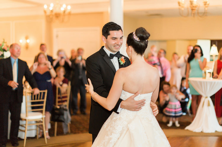 First Dance | Alexis and Michaels Wedding | Featured on Destination Wedding Details | Real Wedding blog