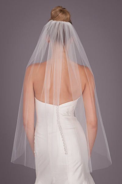Kennedy Blue Bridal Veil Jane