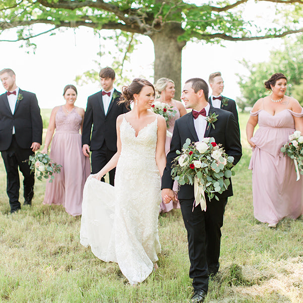 The Secret To Coordinating Bridesmaids And Groomsmen Kennedy Blue,Plus Size Wedding Dress Short Length