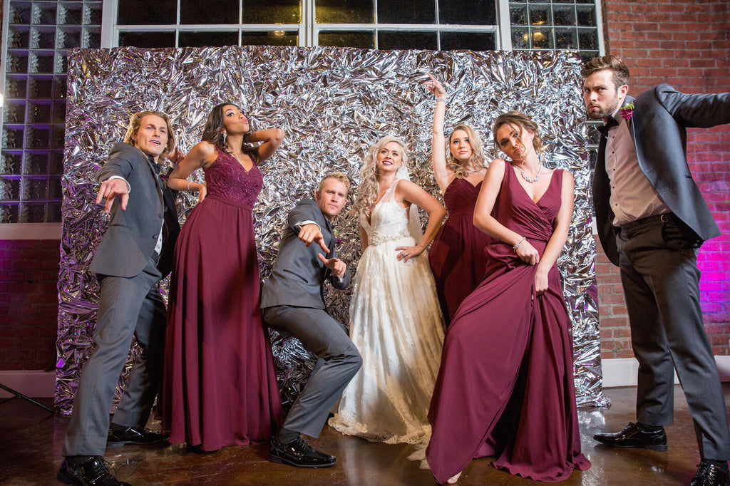 Photo shoot fun at the wedding! | Love In Motion Styled Shoot | Kennedy Blue