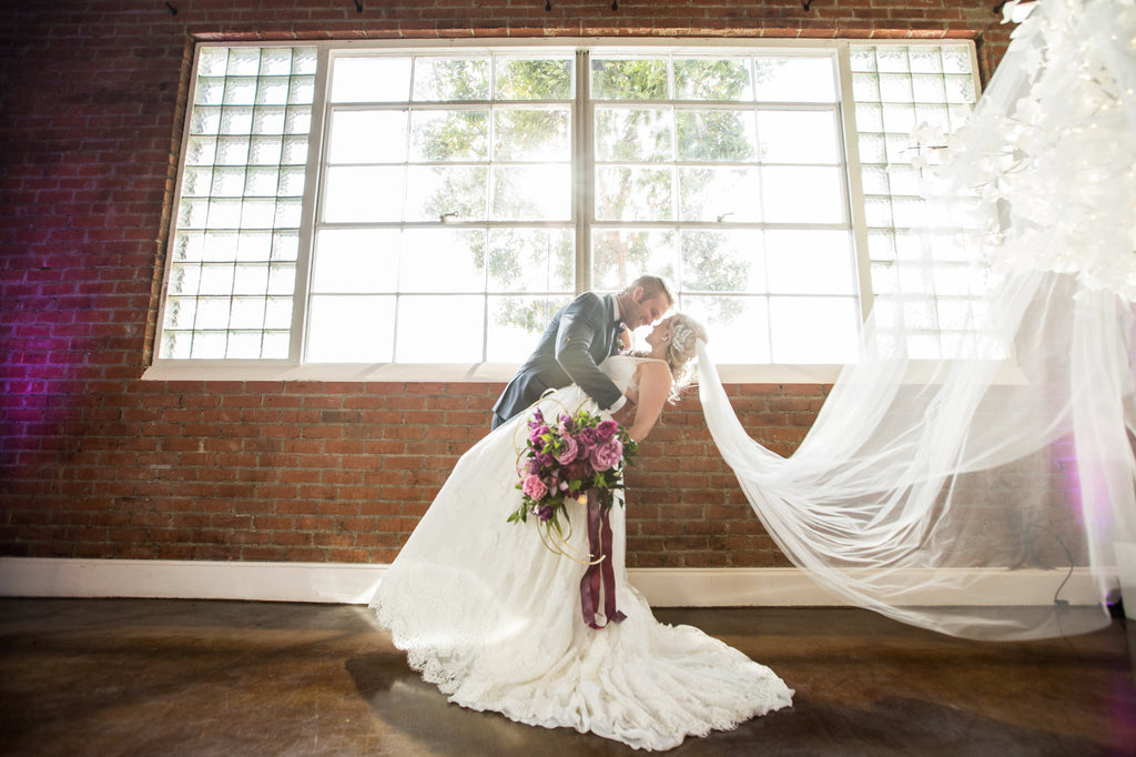 Beautiful shot of the bride and groom! | Love In Motion Styled Shoot | Kennedy Blue
