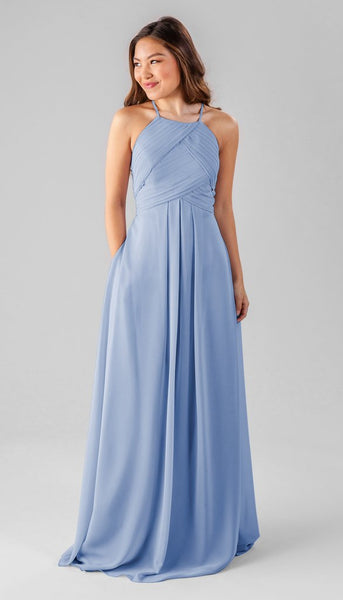 Kennedy Blue Milly | Our Favorite Long Light Blue Bridesmaid Dresses