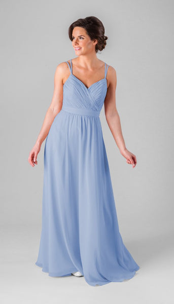 Kennedy Blue Mackenzie | Our Favorite Long Light Blue Bridesmaid Dresses