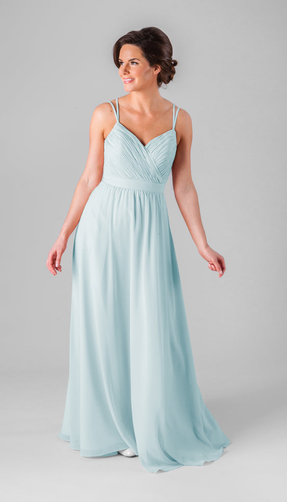 Kennedy Blue Mackenzie Bridesmaid Dress in Mint