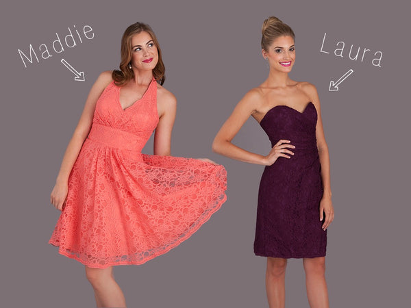 NEW Kennedy Blue Lace Bridesmaid Dresses