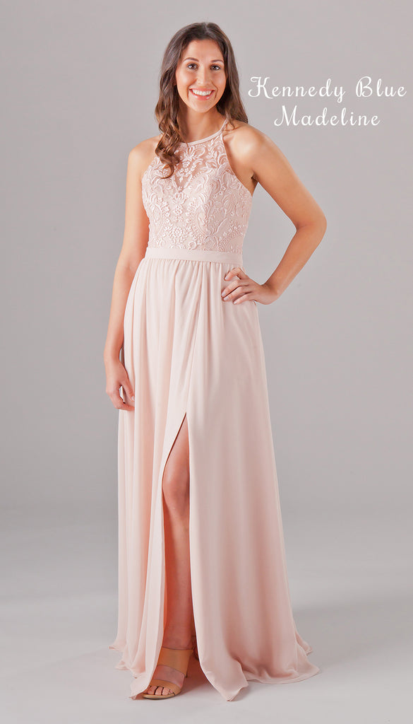 A NEW Embroidered Lace Bridesmaid Dress from the Kennedy Blue Spring 2017 Collection