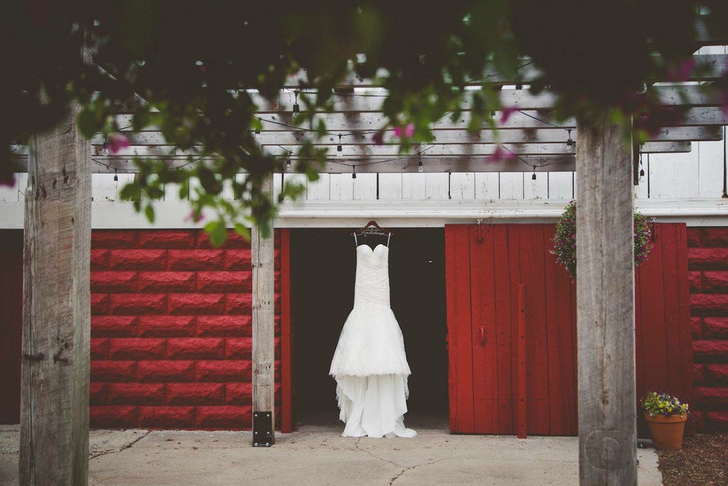 Wedding Dress  | Wisconsin Country Wedding | Kennedy Blue