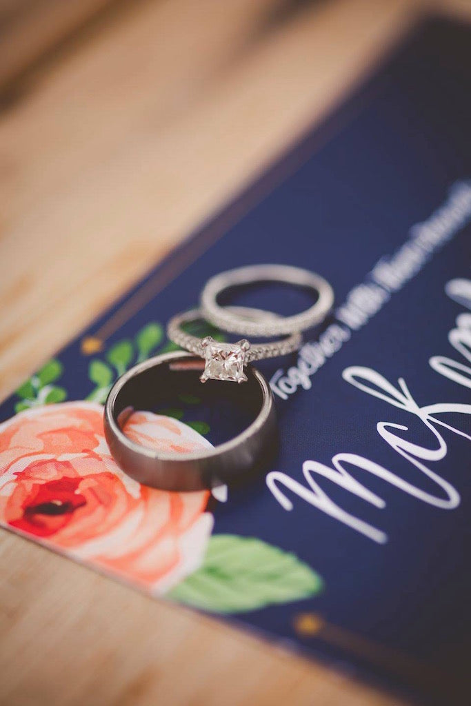 Rings | Wisconsin Country Wedding | Kennedy Blue