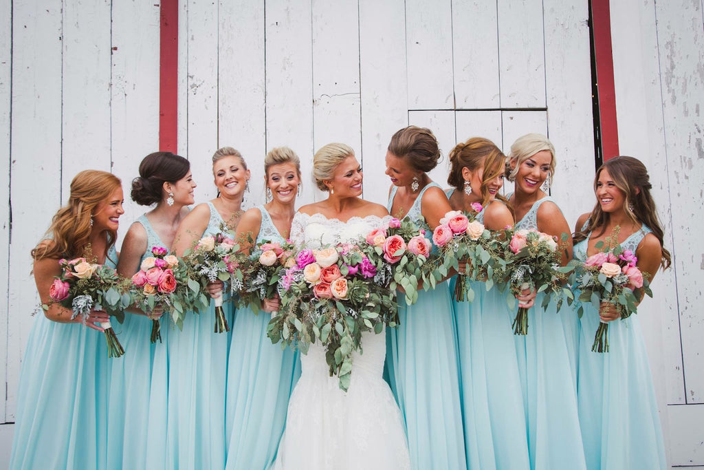Bridal Party  | Wisconsin Country Wedding | Kennedy Blue