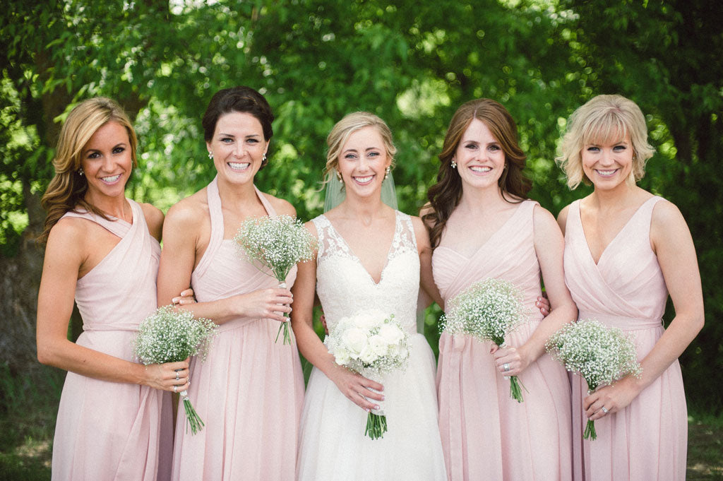 Blush Pink Mix and Match Dresses