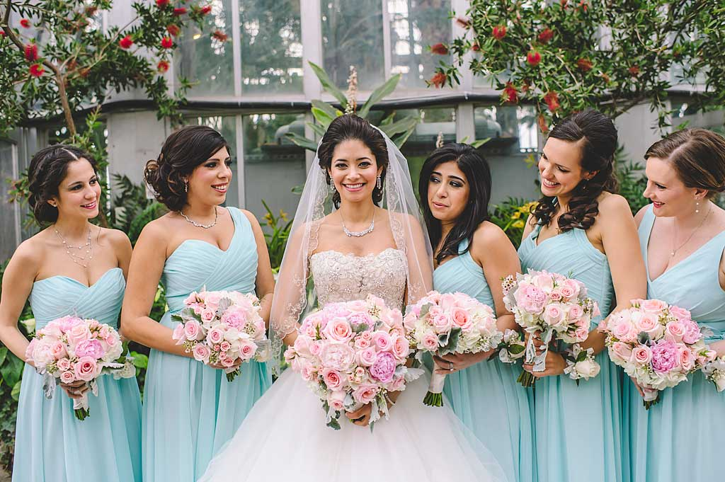Mint Blue Mix and Match Bridesmaid Dresses