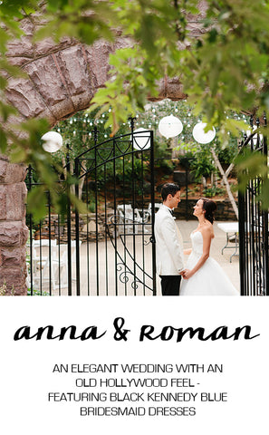 Real Wedding Featuring Anna and Roman