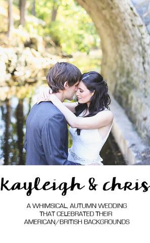 Real Wedding Featuring Kayleigh and Chris