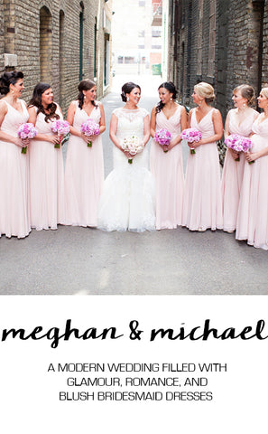 Real Wedding Featuring Meghan and Michael