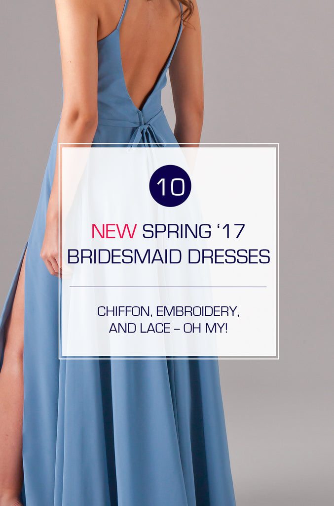 Kennedy Blue's NEW Spring 2017 Bridesmaid Dress Collection